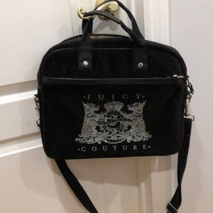 "Juicy Couture Bling Velour 13"" laptop bag"